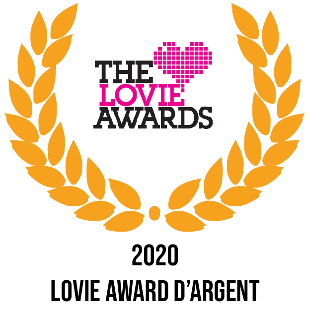 2020 the lovie awards d'argent